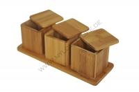 Basso - 3 pcs Storage Jar